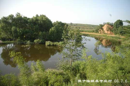 大坝洼庄村风景