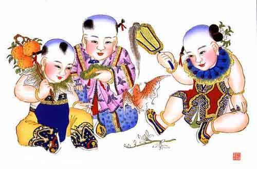 春节习俗--年画