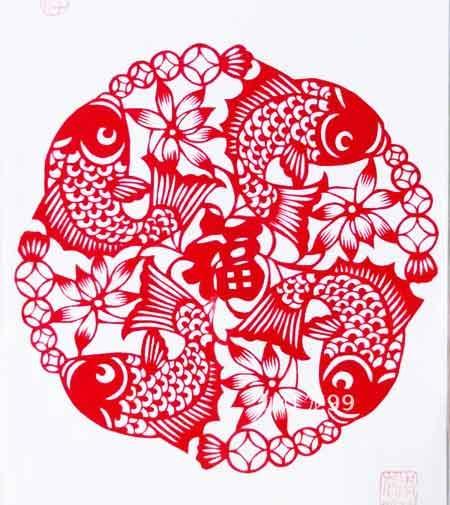 春节剪纸选登-1